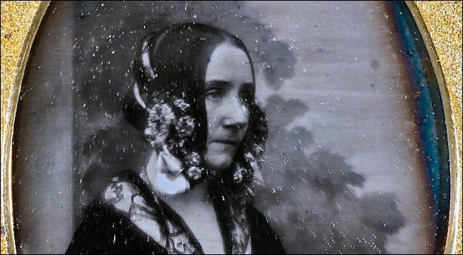 Ada Lovelace in einer Daguerreotypie von 1843.