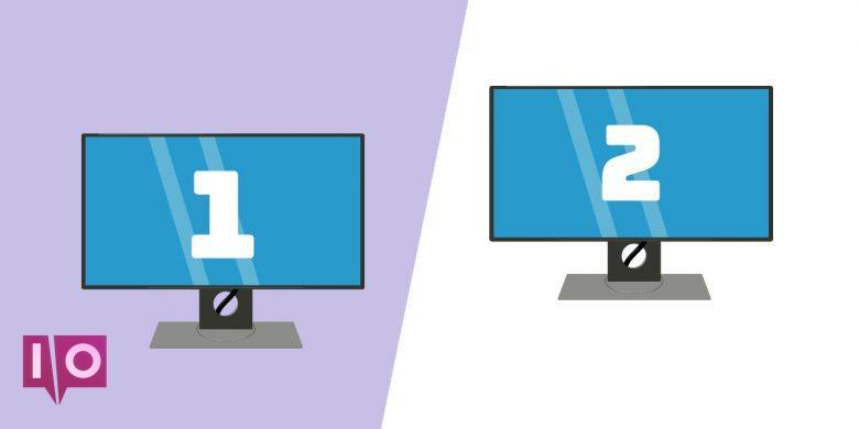 7 hintergründe bildschirme windows 2 verschiedene Verwenden mehrerer