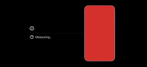 Farbbalance-Messung auf Apple TV