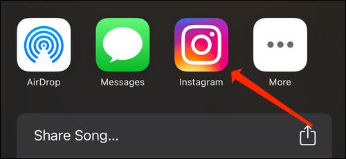 Tippe auf Instagram