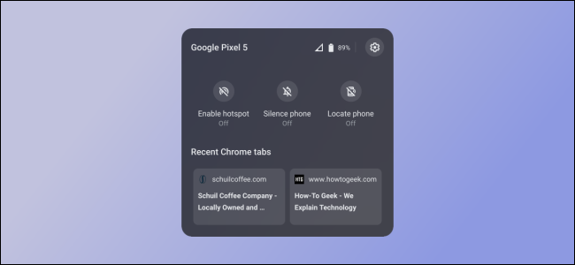 Chrome OS Telefon-Hub