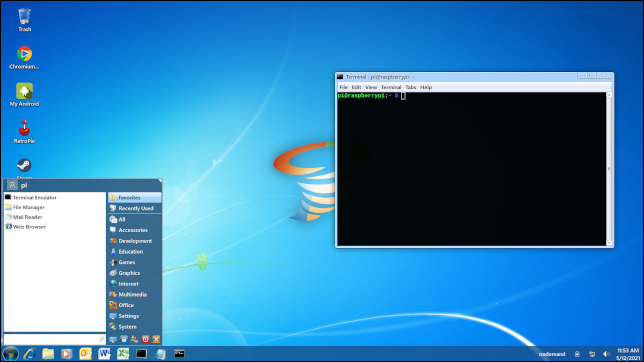 Twister OS Windows 7 Thema