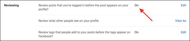 Aktivieren Sie die Timeline-Überprüfung im Facebook-Web