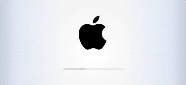 iPad und iPhone OS Update-Bildschirm Held