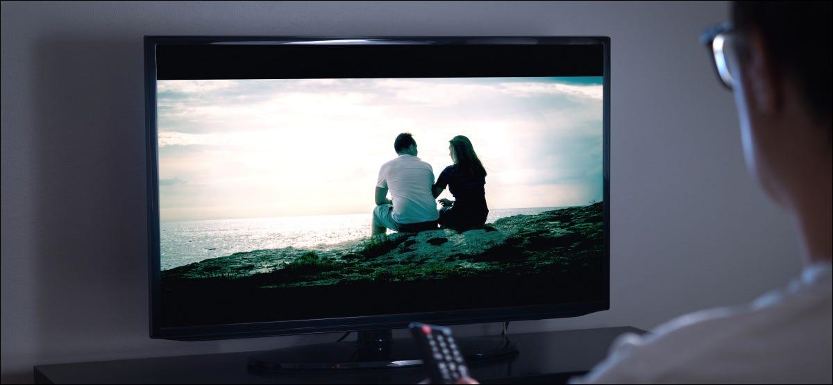 """Eine Szene, die auf einem Fernseher zu """"Black Crush"""" führen könnte."""