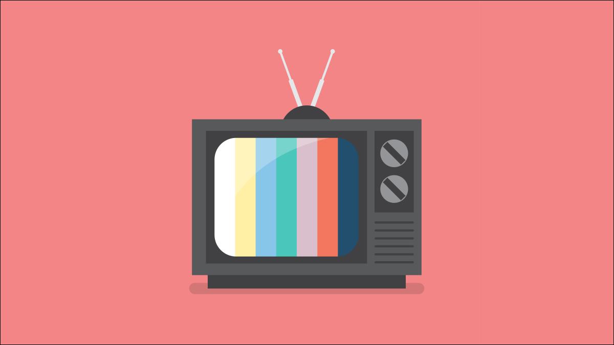 Ein stilisiertes Bild eines Retro-Fernsehens.
