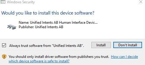 Android-Maus Unified Remote Windows-Sicherheit