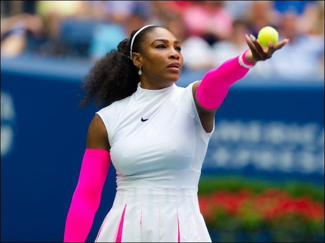 Serena Williams beim US Open Grand-Slam-Tennisturnier 2016