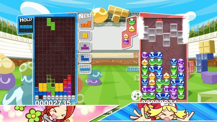 Lokales Switch-Tetris
