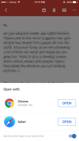 Google Mail-Select-Browser