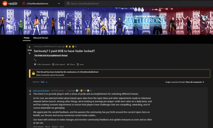 EA reddit