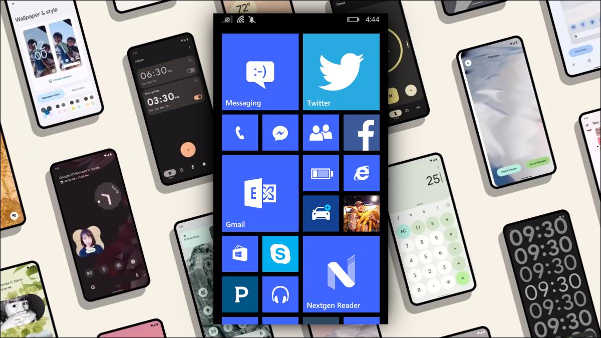 Windows-Phone und Android 12.
