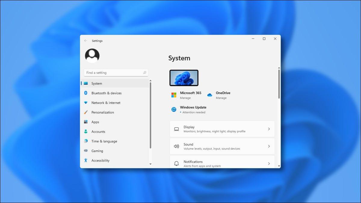 Das Fenster mit den Vorschaueinstellungen von Windows 11