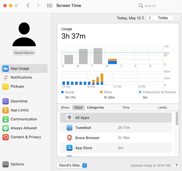 Mac-Tipps Arbeiten mit Startbildschirmzeit