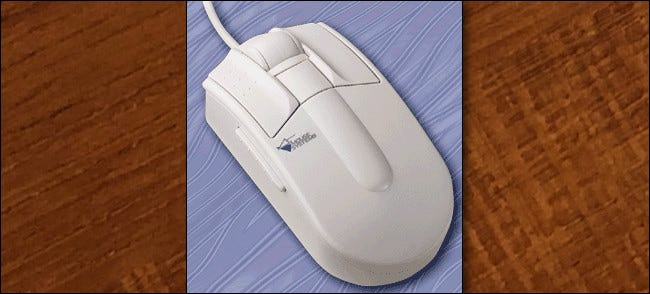 Die 1995 Mouse Systems ProAgio Scroll Mouse