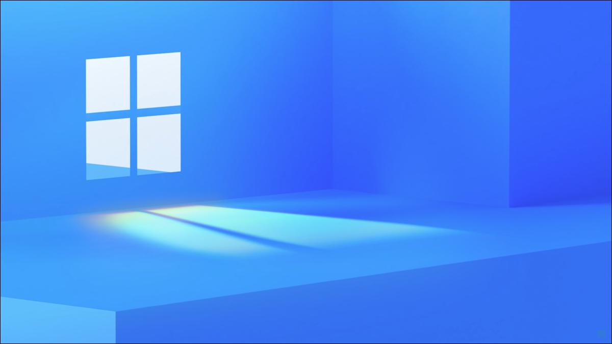 Das Teaser-Image von Microsoft für Windows 11.