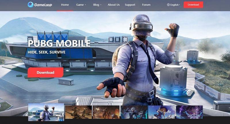 GameLoop kann von seiner offiziellen Website heruntergeladen werden (Bild über GameLoop)