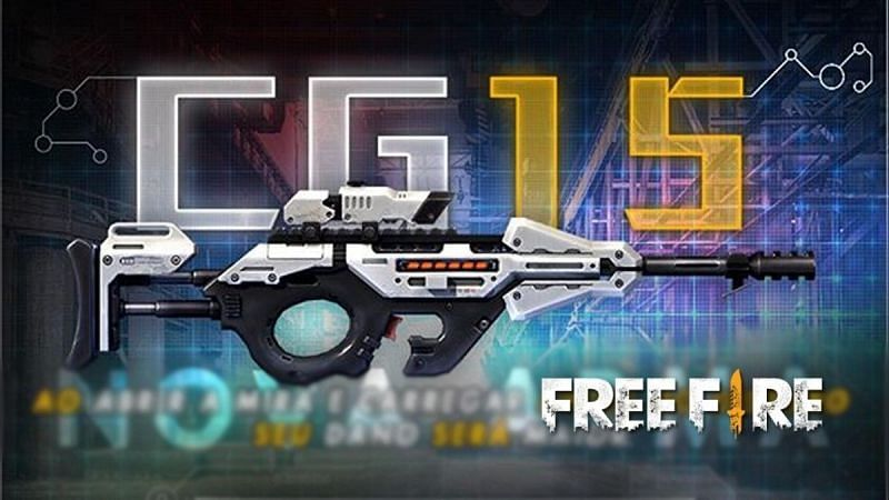 CG15 SMG im freien Feuer (Bild via ff.garena.com)