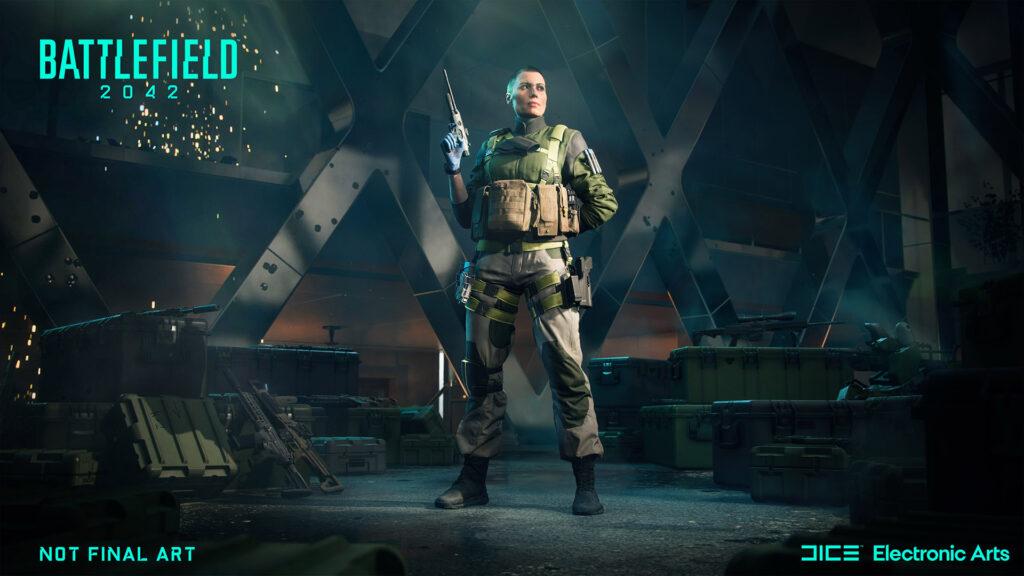 Battlefield 2042 Maria Falk Spezialistin