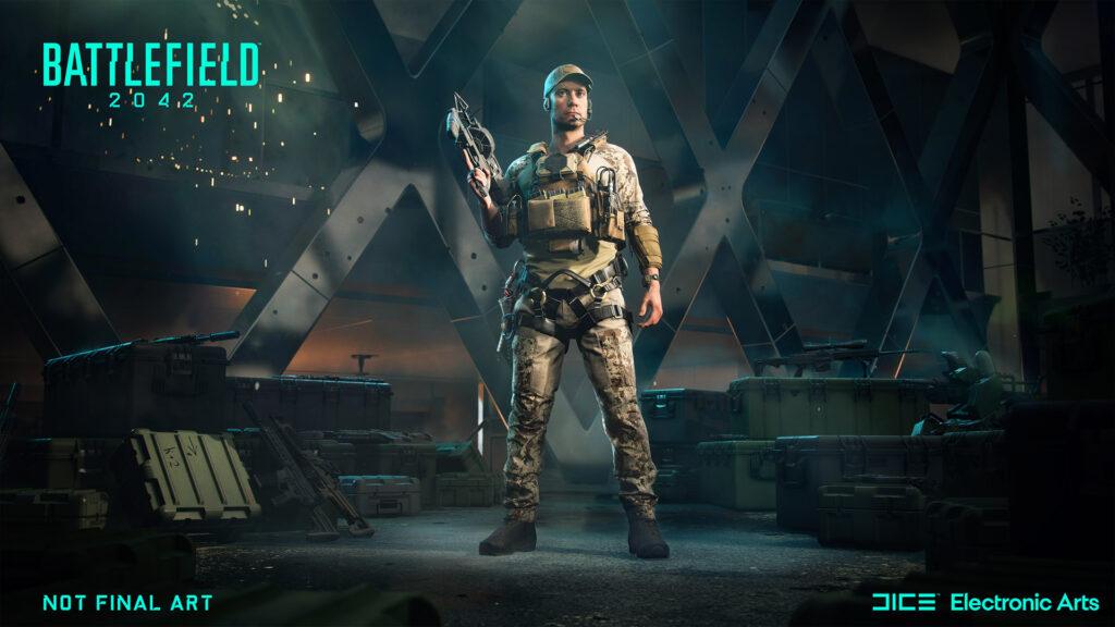 Battlefield 2042 Webster Mackay-Spezialist