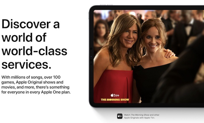 Apple One Good Deal Morgen