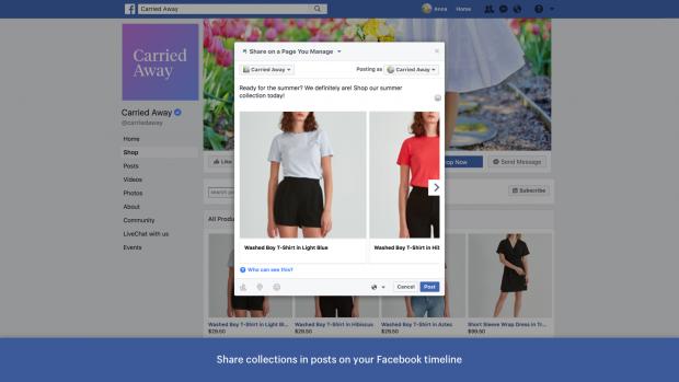 Shopify Facebook-Seiten-App