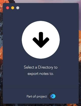 Exporter-Auswahl-Verzeichnis