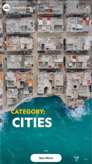 National Geographic Instagram Stories-Wettbewerb