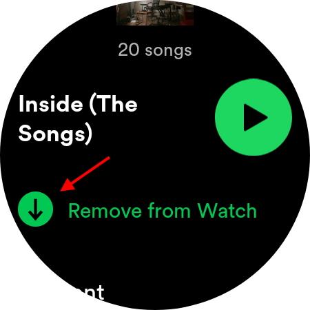 So verwenden Sie Spotify offline auf Wear OS 3-Uhren