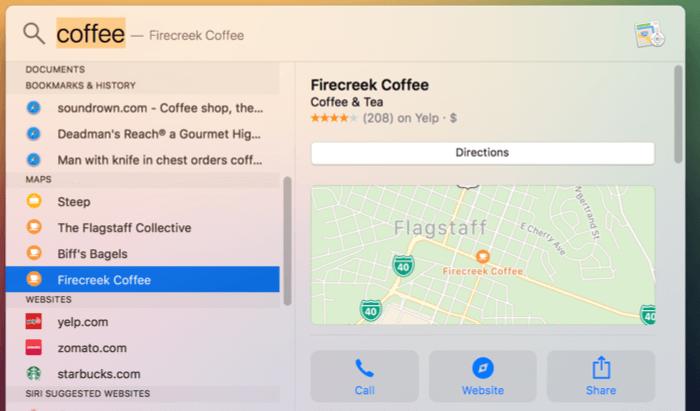 Spotlight-Mac-lokale-Unternehmen finden