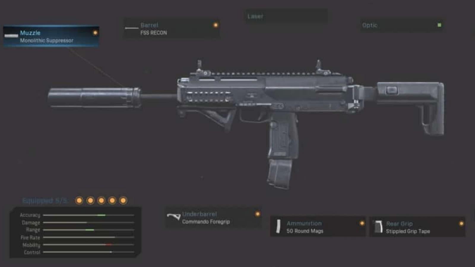 Das beste MP7 Warzone Loadout mit Details