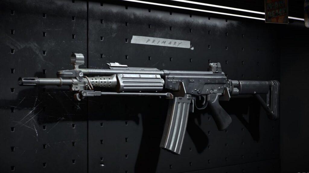 FARA-83 am Waffenständer in Warzone