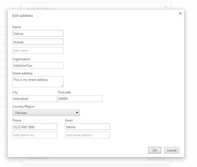 Adresse_Chrome bearbeiten