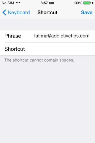 iOS-Verknüpfung