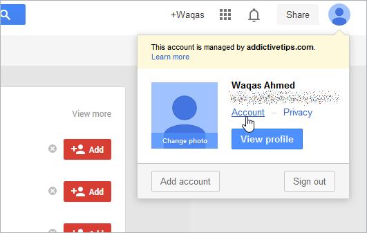 So entfernen Sie Google aus Ihren Google-Kontoeinstellungen