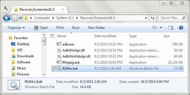 Android-Wiederherstellungs-Screenshot für Windows 01