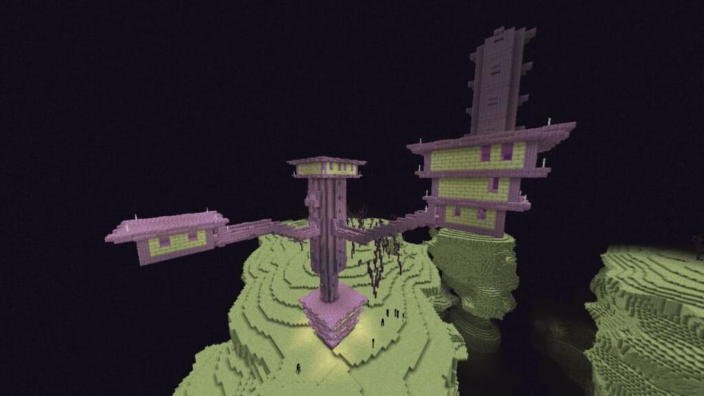Minecraft-Ende