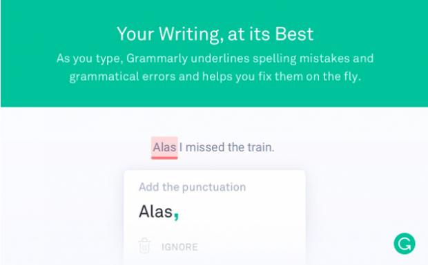 Chrome-Erweiterungen Grammarly