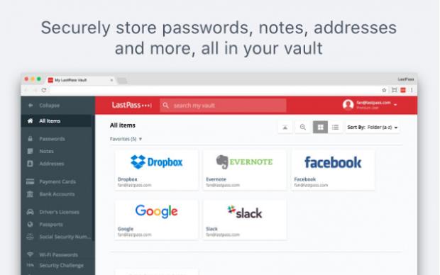 Chrome-Erweiterungen LastPass