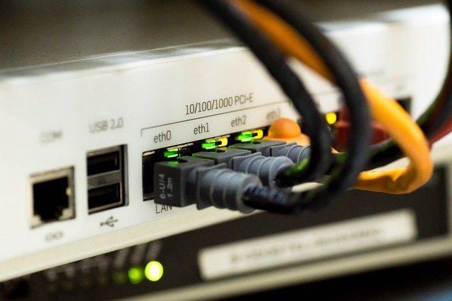 Internet-Auswahl-Ethernet