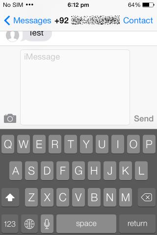 MessageEnhancer dunkle Tastatur