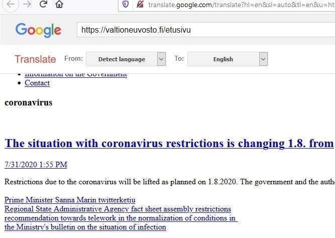 Firefox Soziale Erweiterungen Google Übersetzer