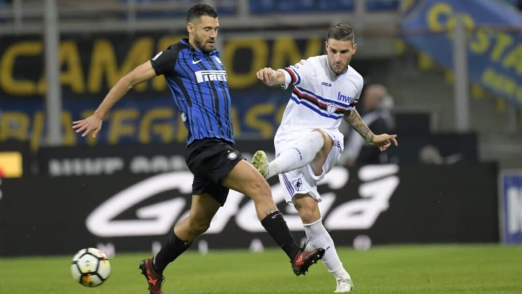 Sampdoria gegen Inter Mailand