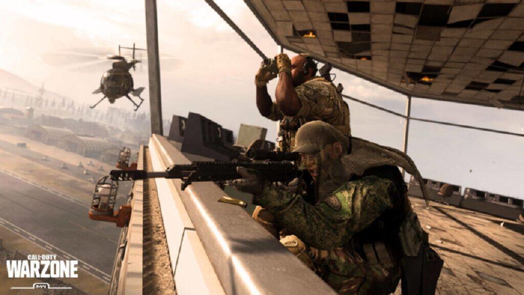 Scharfschützengewehr in Warzone zielen