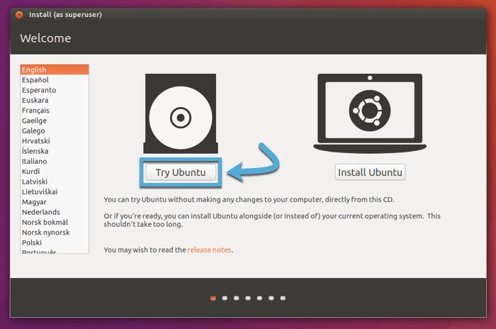 create-linux-live-usb-macos-try-ubuntu-startup-screen