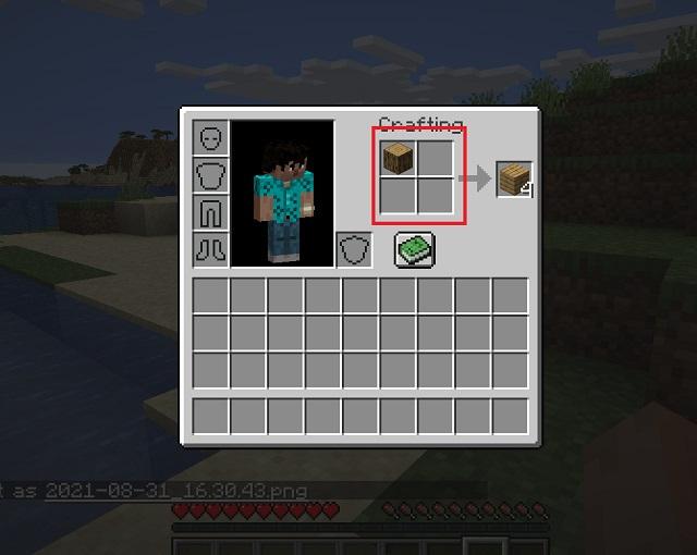 Minecraft-Planken