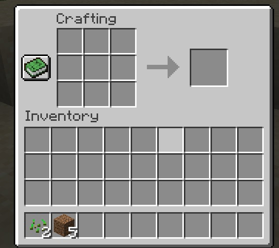 Verwenden von Crafting in Minecraft