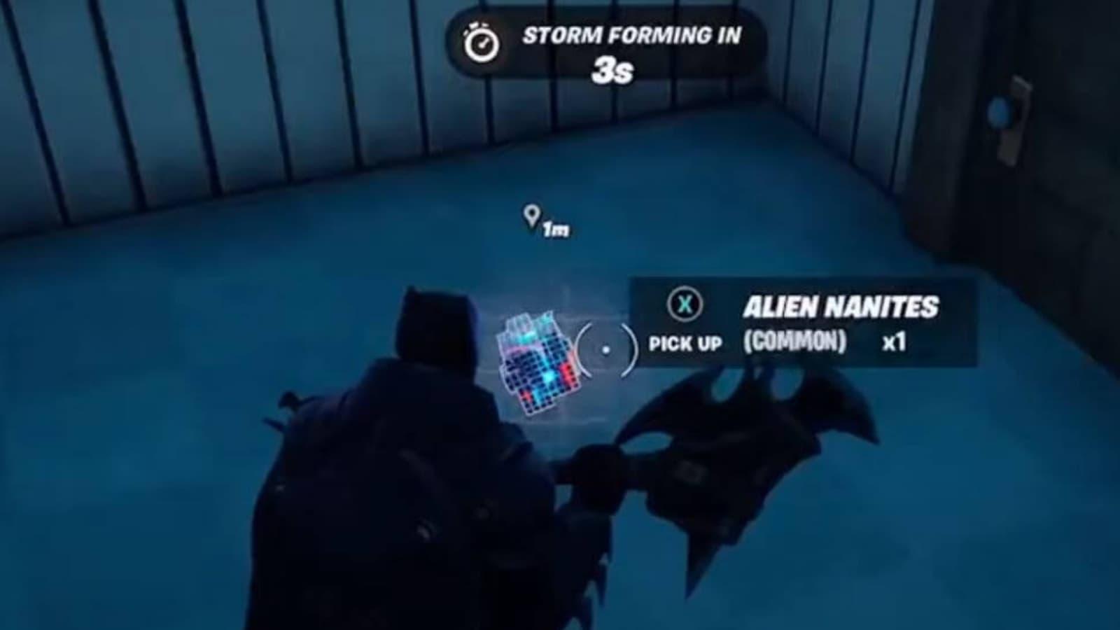 Wie man Fortnite Alien Nanites in Staffel 7 herstellt