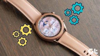 Beste Samsung Galaxy Watch 3 Tipps und Tricks im Jahr 2020