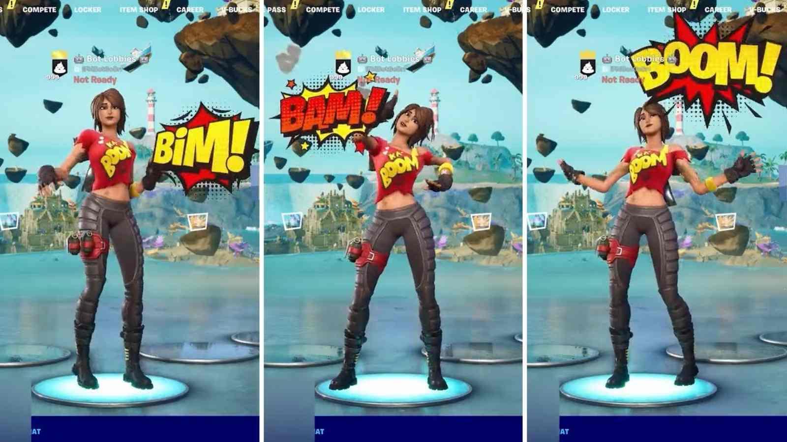 Fortnite Bim Bam Boom Emote: Neue Emote-Details der 7. Staffel